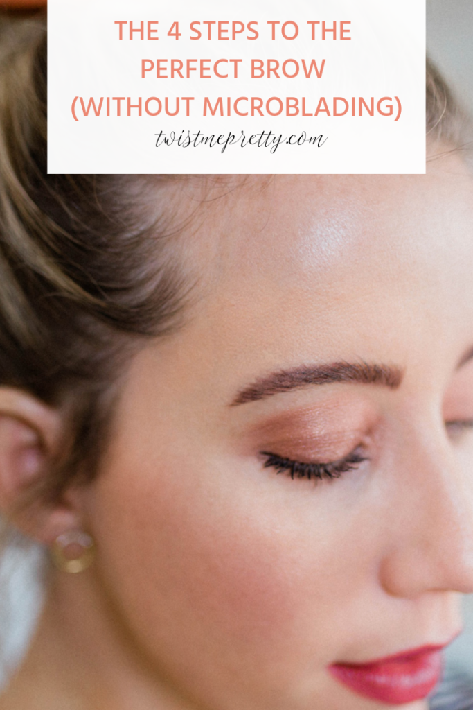 microblading how to fix botched microblading how to get the perfect brow without microblading with twistmepretty.com