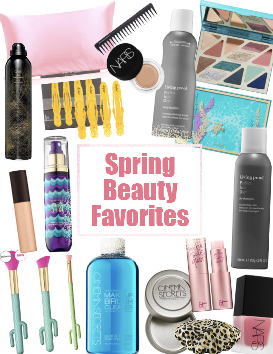 My 15 Favorite Spring Beauty Must Haves with twistmepretty.com