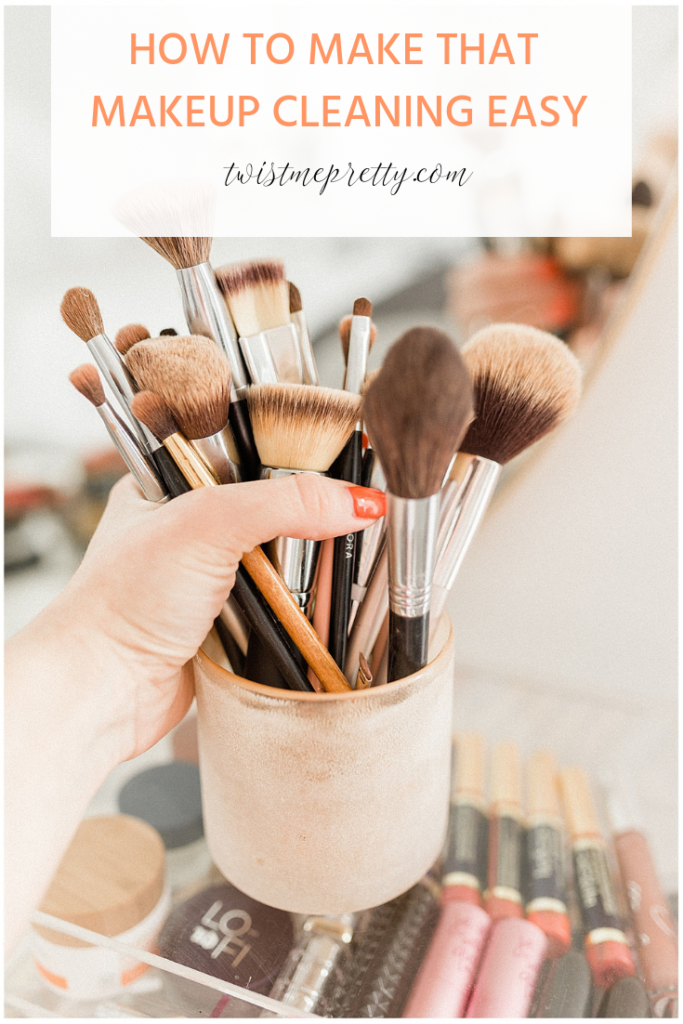 How to Spring Clean Your Makeup Bag with twistmepretty.com