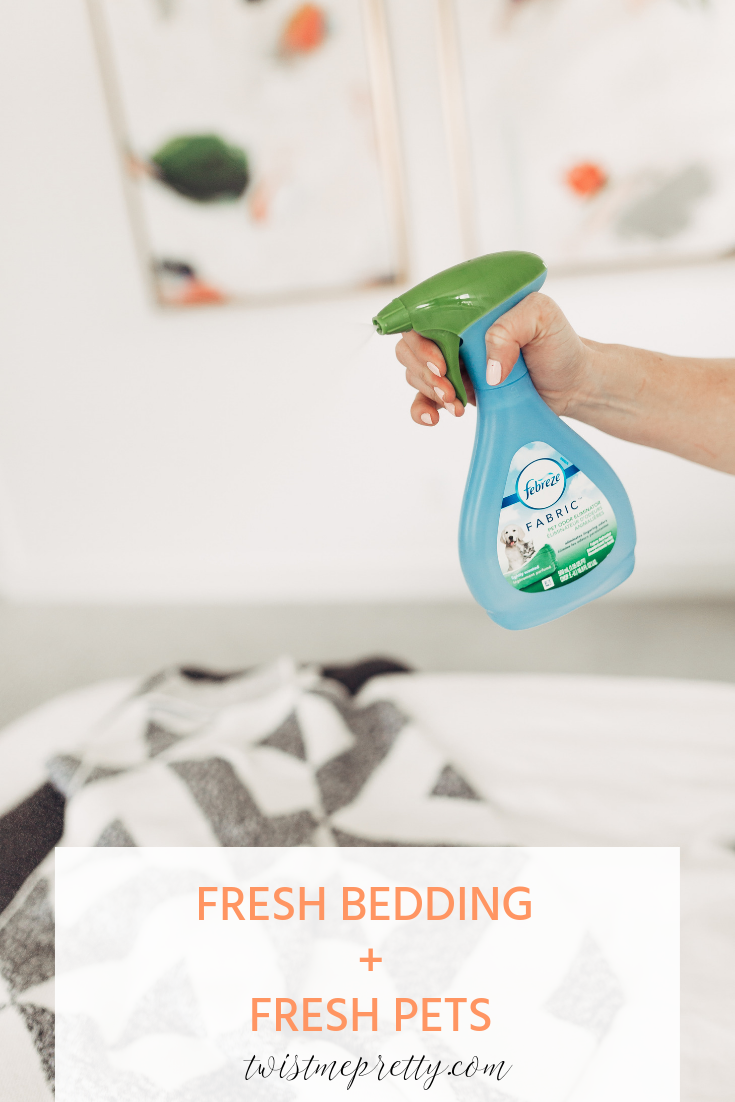 How To Keep Your Home Fresh With Pets Febreeze and Twistmepretty.com