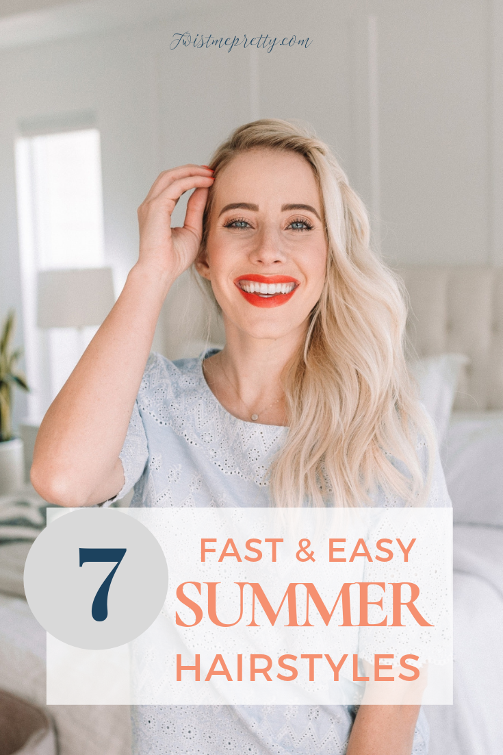 Love these 7 hairstyles that are perfect for summer from twistmepretty.com