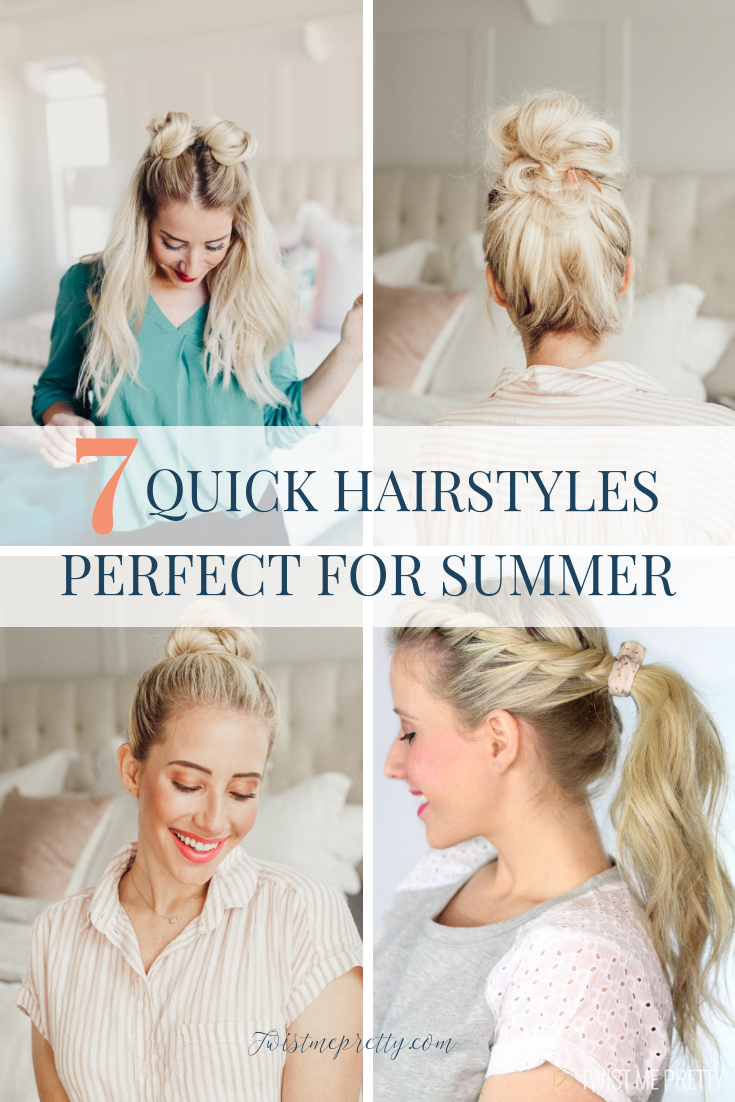 7 of the best summer hairstyles from Twistmepretty.com
