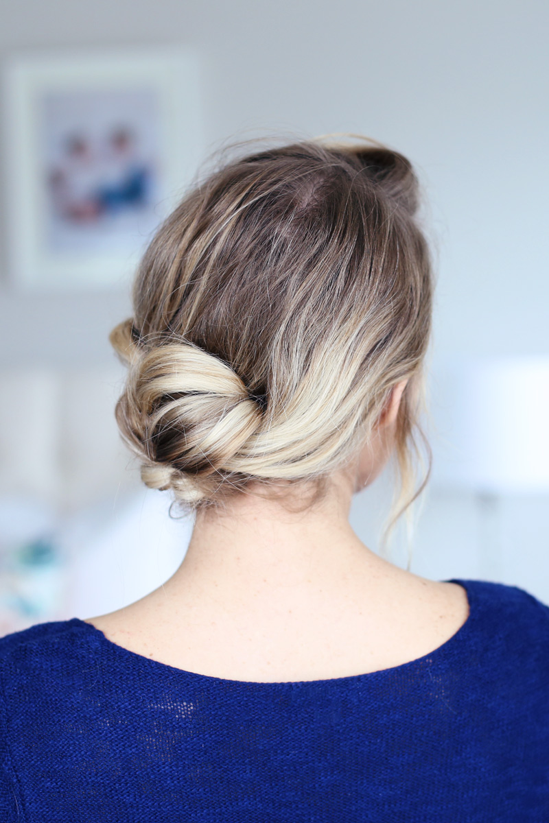 Quick summer hairstyle from twistmepretty.com