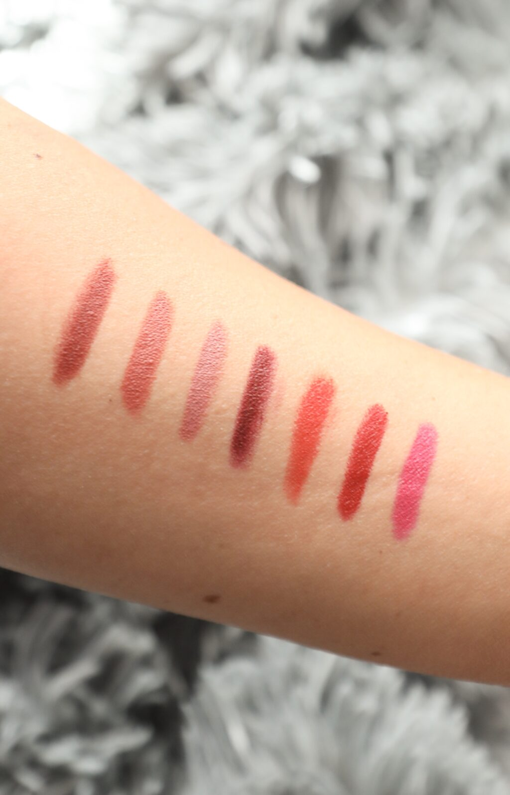 Maybelline Super Stay swatches with Twist Me Pretty