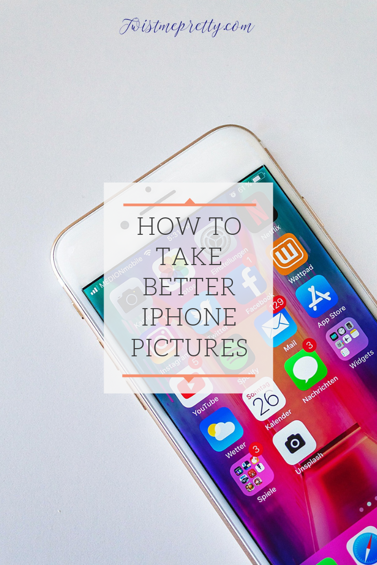 Your iPhone pictures can look as amazing as a great camera with these tips from Twistmepretty.com