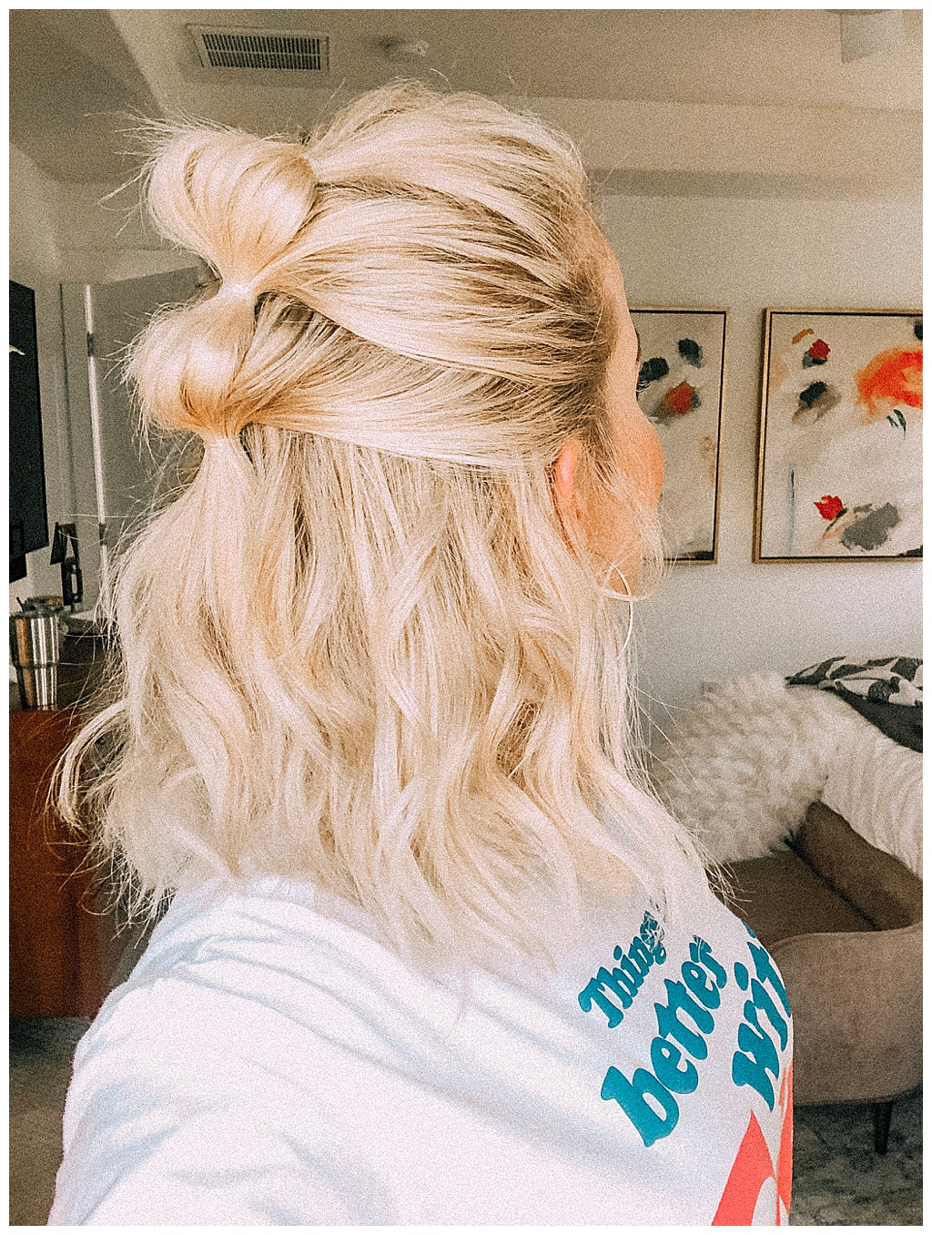 If you want quick and super stylish results Bubble Ponytail is one of the best hairstyles to try