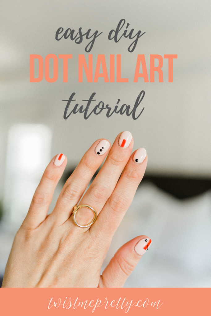 Looking for a cute nail art tutorial that isn't overly complicated? This tutorial is just the thing from Twistmepretty.com