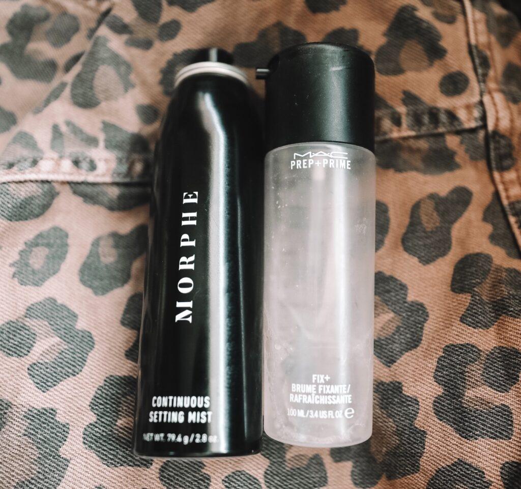 I love the Morphe Makeup setting spray!