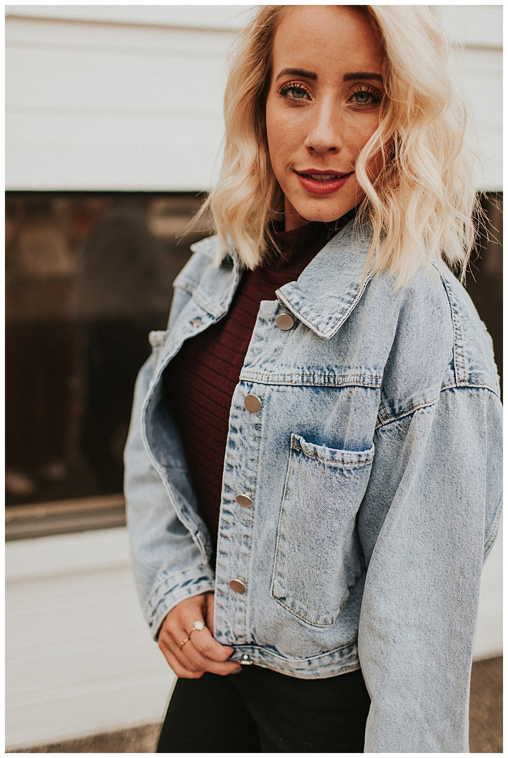 The softest denim jacket you will ever need!
