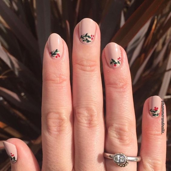 Another easy DIY gel nail tutorial, this time with Winter floral gel nail inspiration. These are gorgeous and the tutorial actually makes them seem easy!