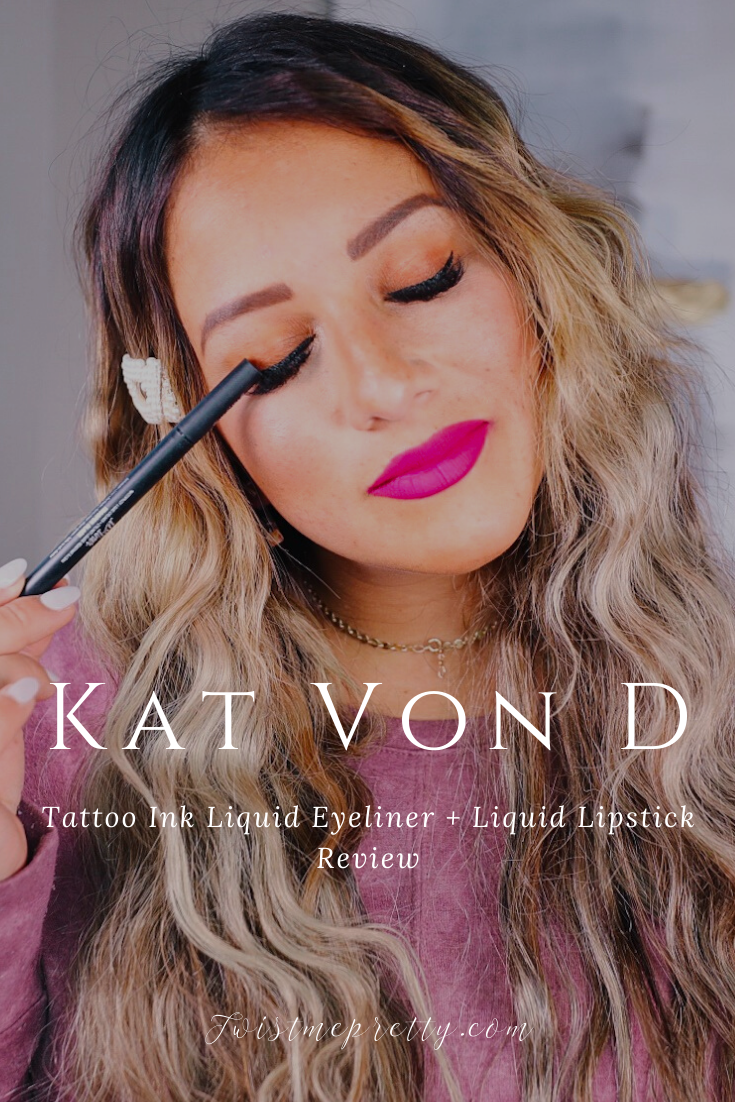 Kat Von D Makeup Reivew with Sarah from the Dainty Pear