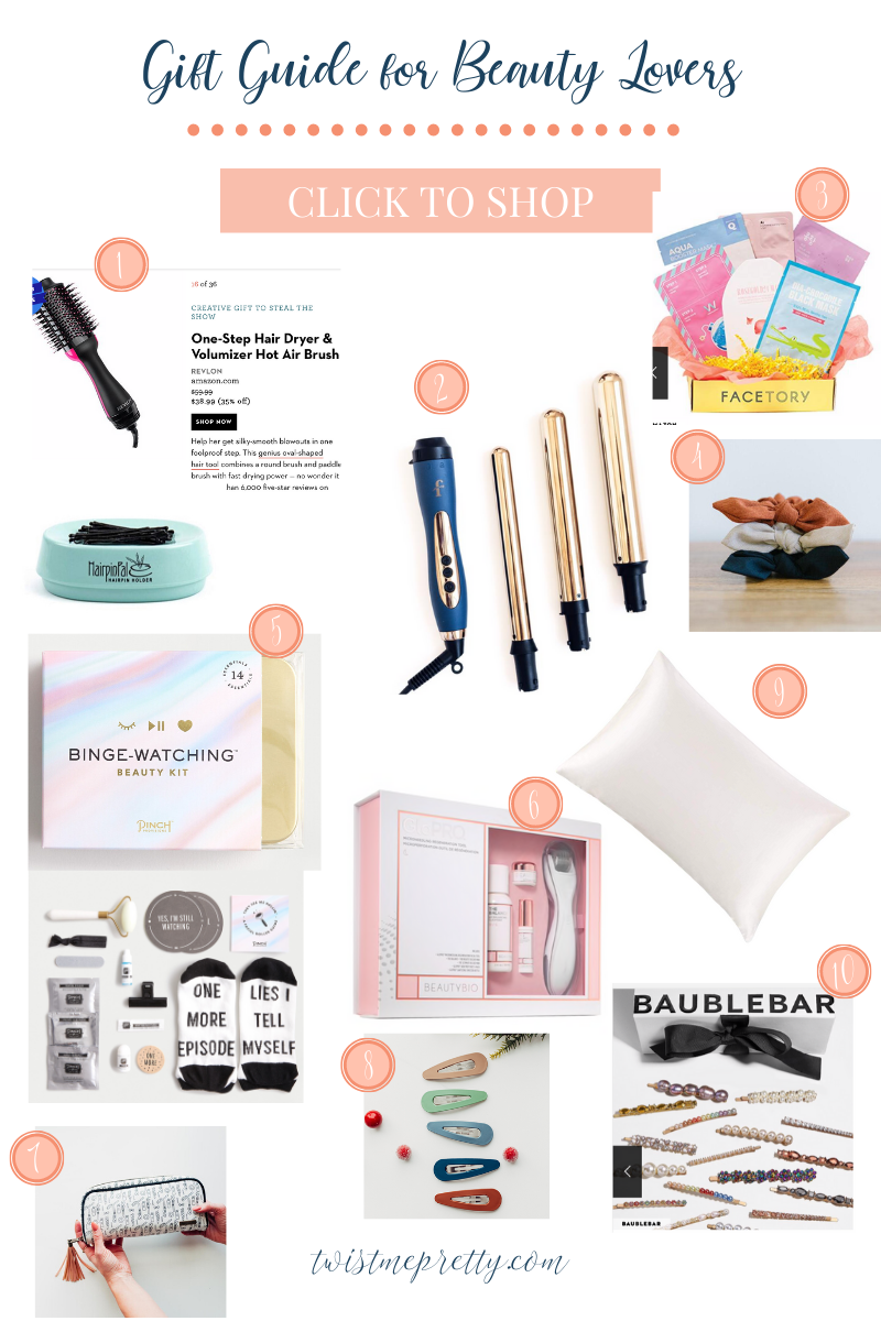 Perfect gifts for all the beauty lovers on your list. Have someone who needs a beauty gift? This gift guide has you covered!