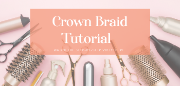 Crown Braid For Short Hair Twist Me Pretty