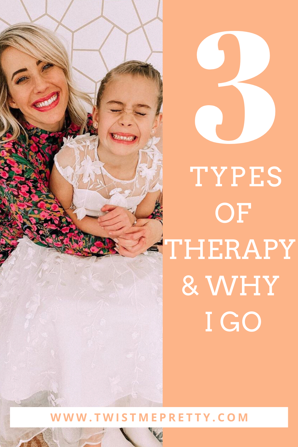 3 types of therapy & why I go. www.TwistMePretty.com