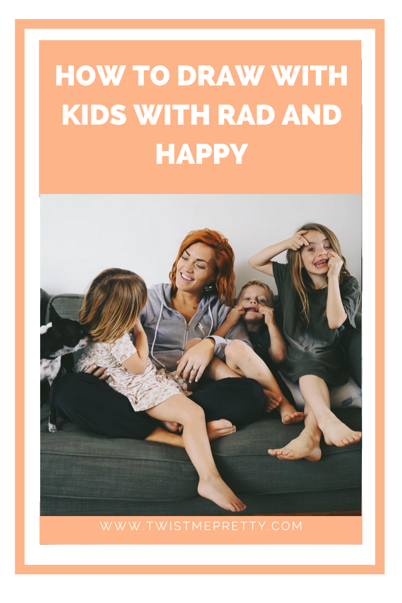 How to draw with kids with Rad and Happy Abby's Survival Series
