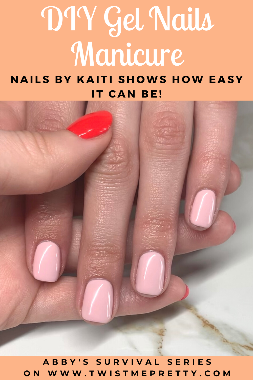 DIY Gel Nails Manicure- Nails By Kaiti shows how easy it can be! www.TwistMePretty.com