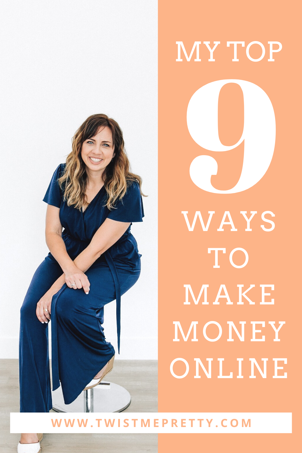 My top 9 ways to make money online while staying home with my kids. www.TwistMePretty.com