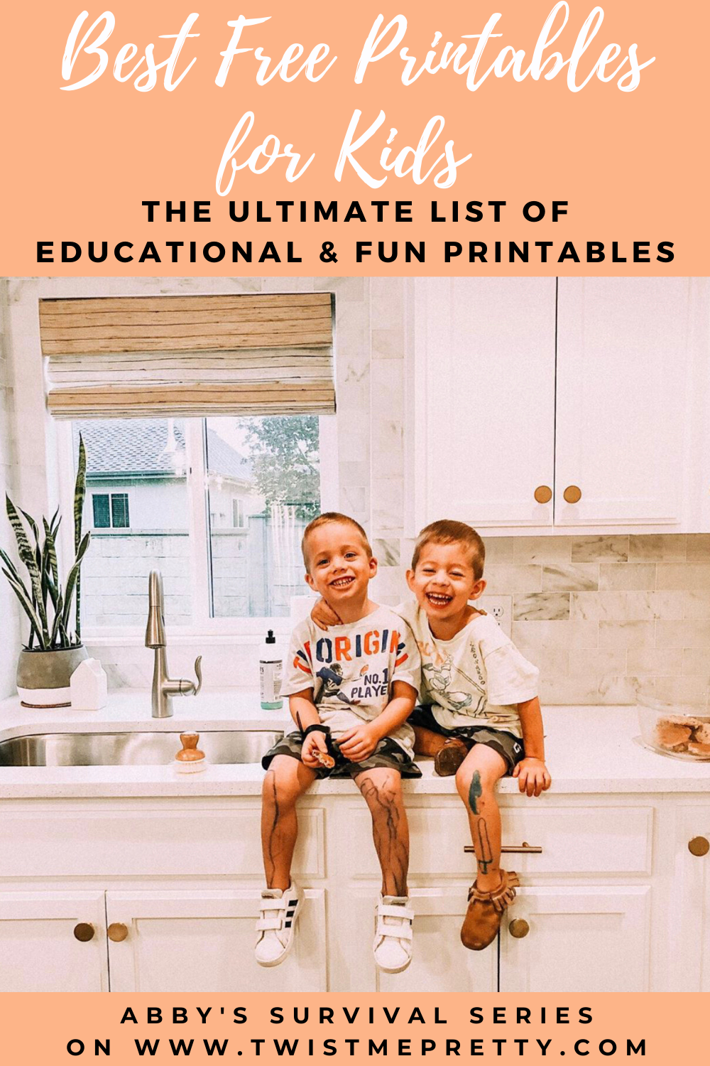 Best Free Printables for Kids- The ultimate list of educational and fun printables from Abby's Survival Series. www.TwistMePretty.com