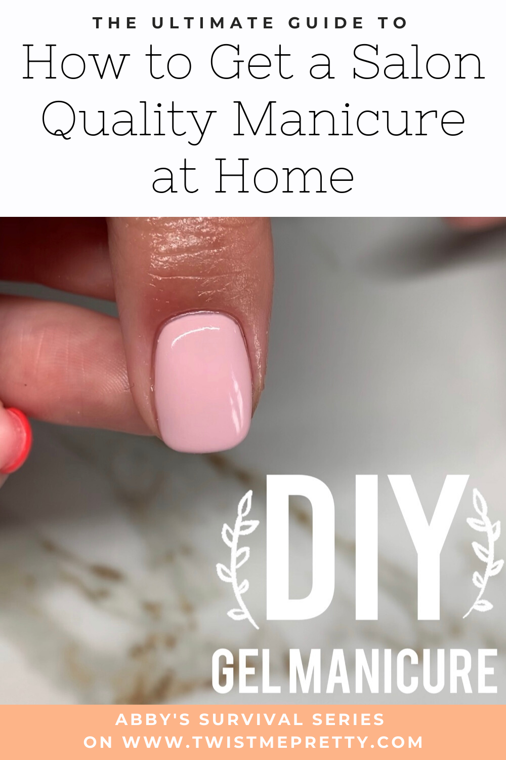 How to Get a Salon Quality Manicure at home with Nails By Kaiti. www.TwistMePretty.com