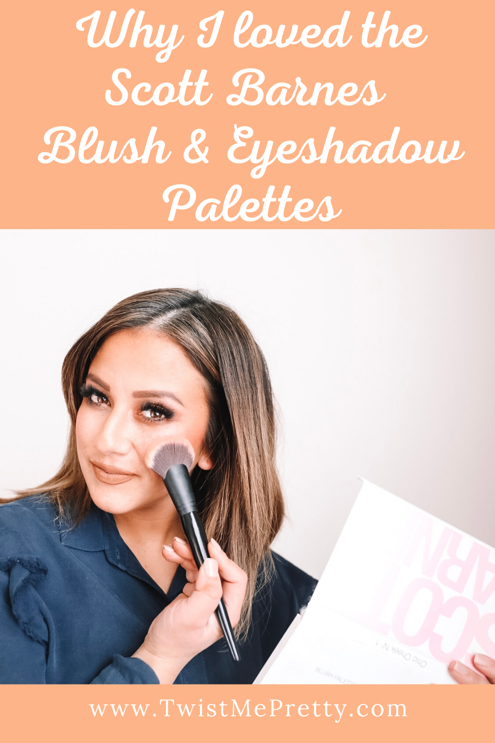 Why I loved the Scott Barnes Blush & Eyeshadow Palettes. www.TwistMePretty.com