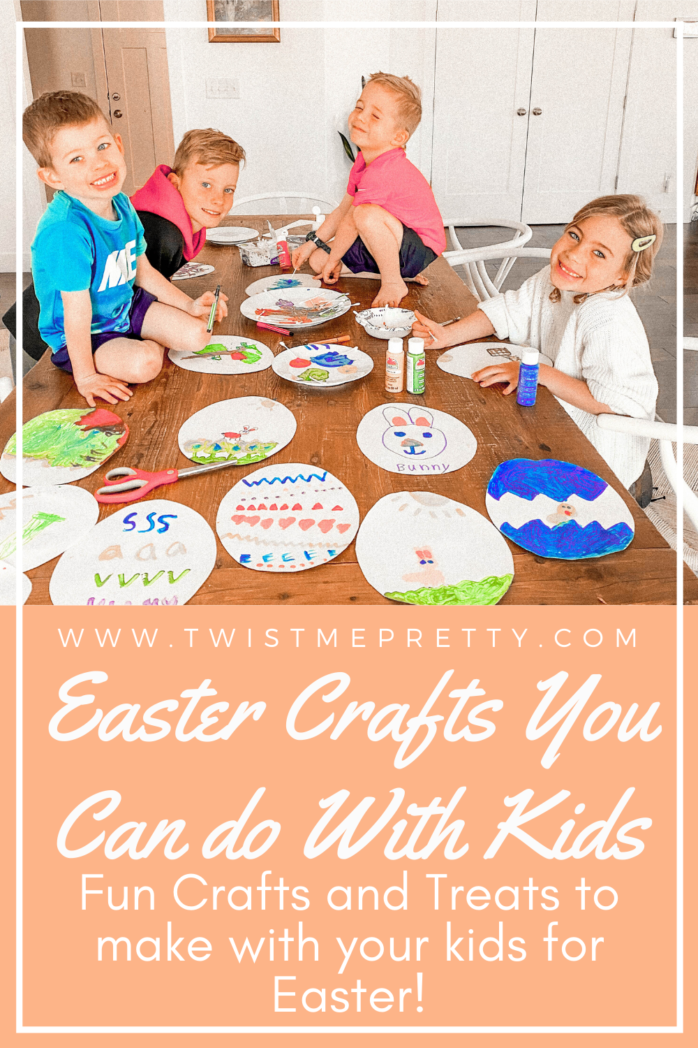 Easter Crafts You Can Do With Your Kids www.TwistMePretty.com
