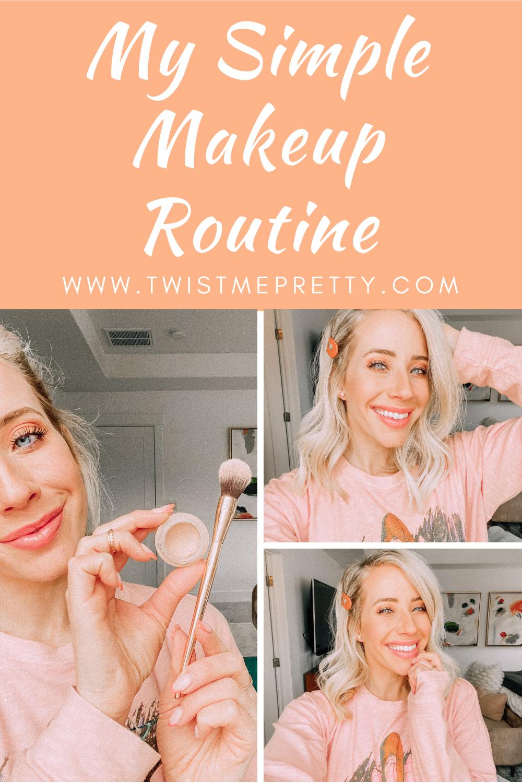 My Simple Makeup Routine www.twistmepretty.com