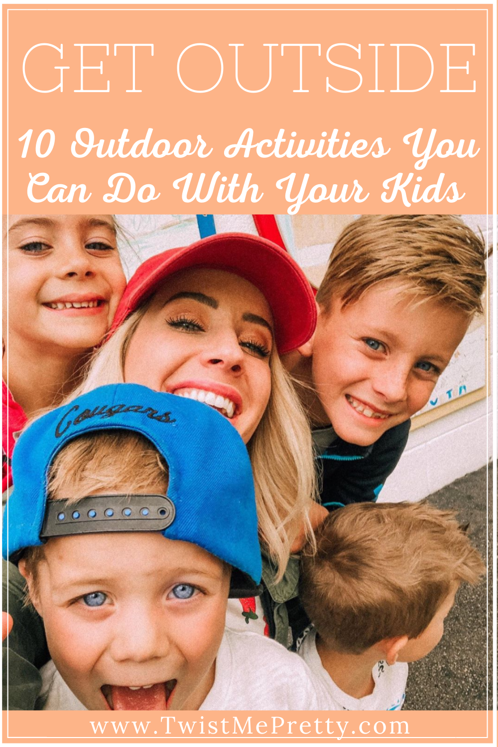 Get outside! 10 outdoor activities you can do with your kids! www.twistmepretty.com