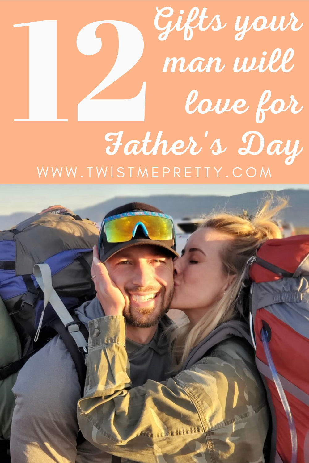 12 Gifts your man will love for Father's Day. www.twistmepretty.com