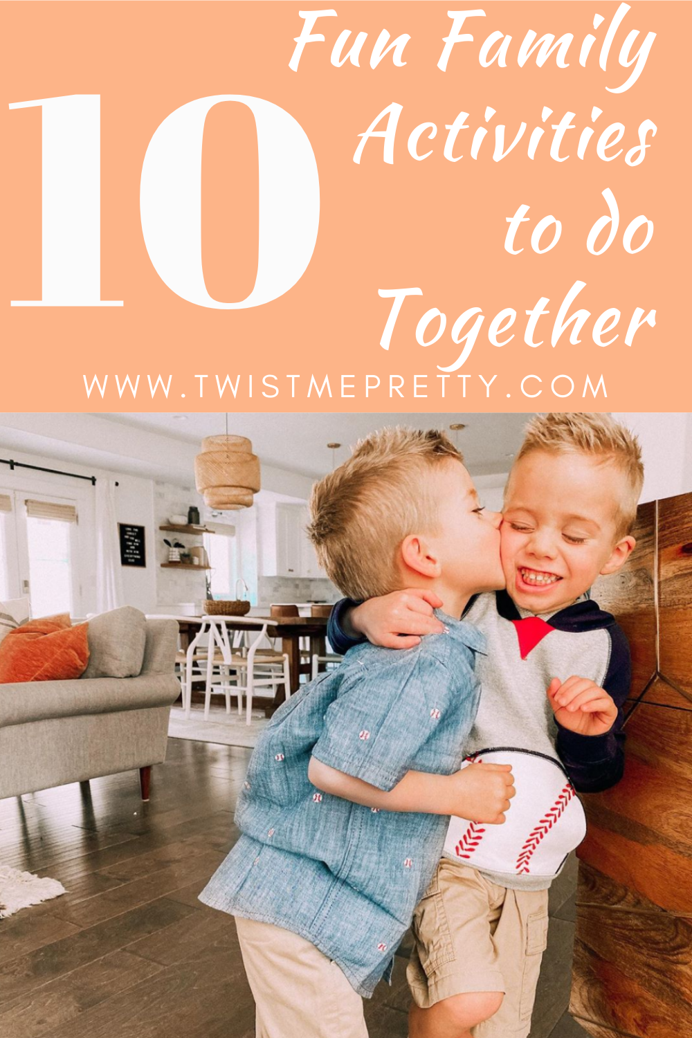 10 Fun Family Activities to do together. www.twistmepretty.com