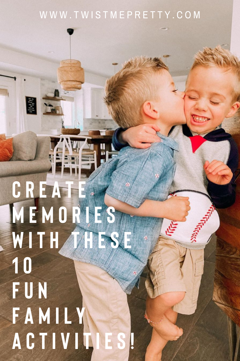 Create memories with these 10 fun family activities! www.twistmepretty.com