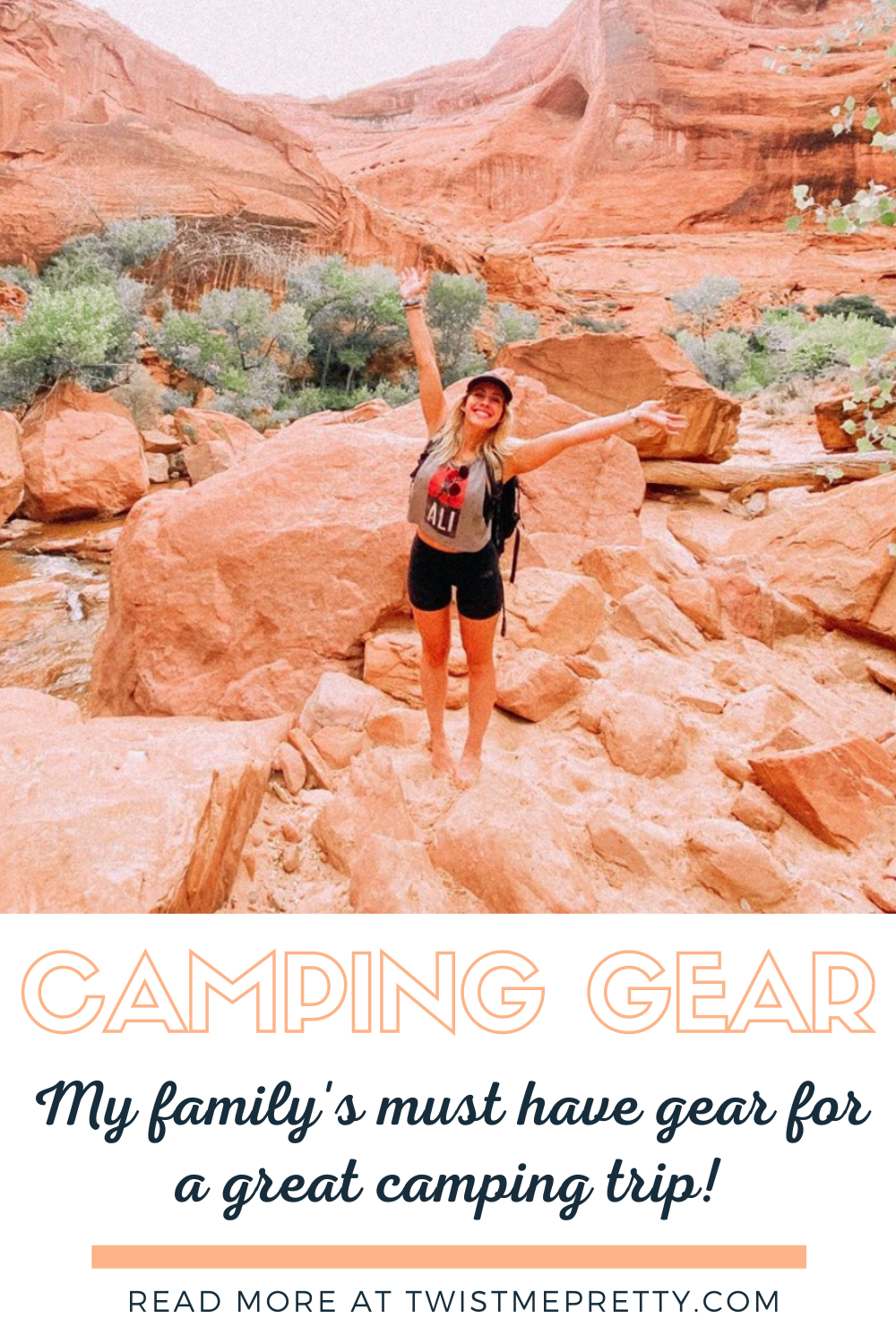 Camping Gear- My family's must haves for a great camping trip. www.twistmepretty.com