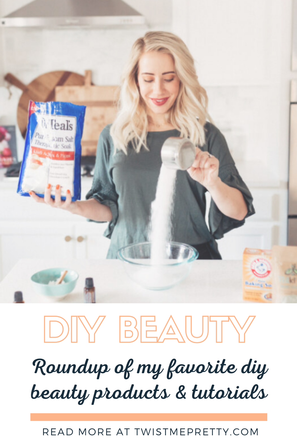 Diy Beauty. Roundup of my favorite diy beauty products and tutorials. www.twistmepretty.com