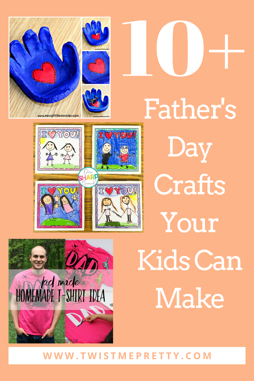 Father's Day Crafts Your Kids Can Make www.TwistMePretty.com