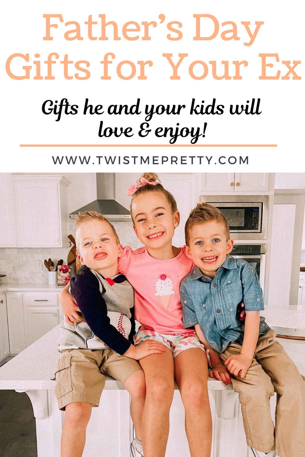 Father's Day Gifts that your Ex and your kids will love and enjoy. www.twistmepretty.com