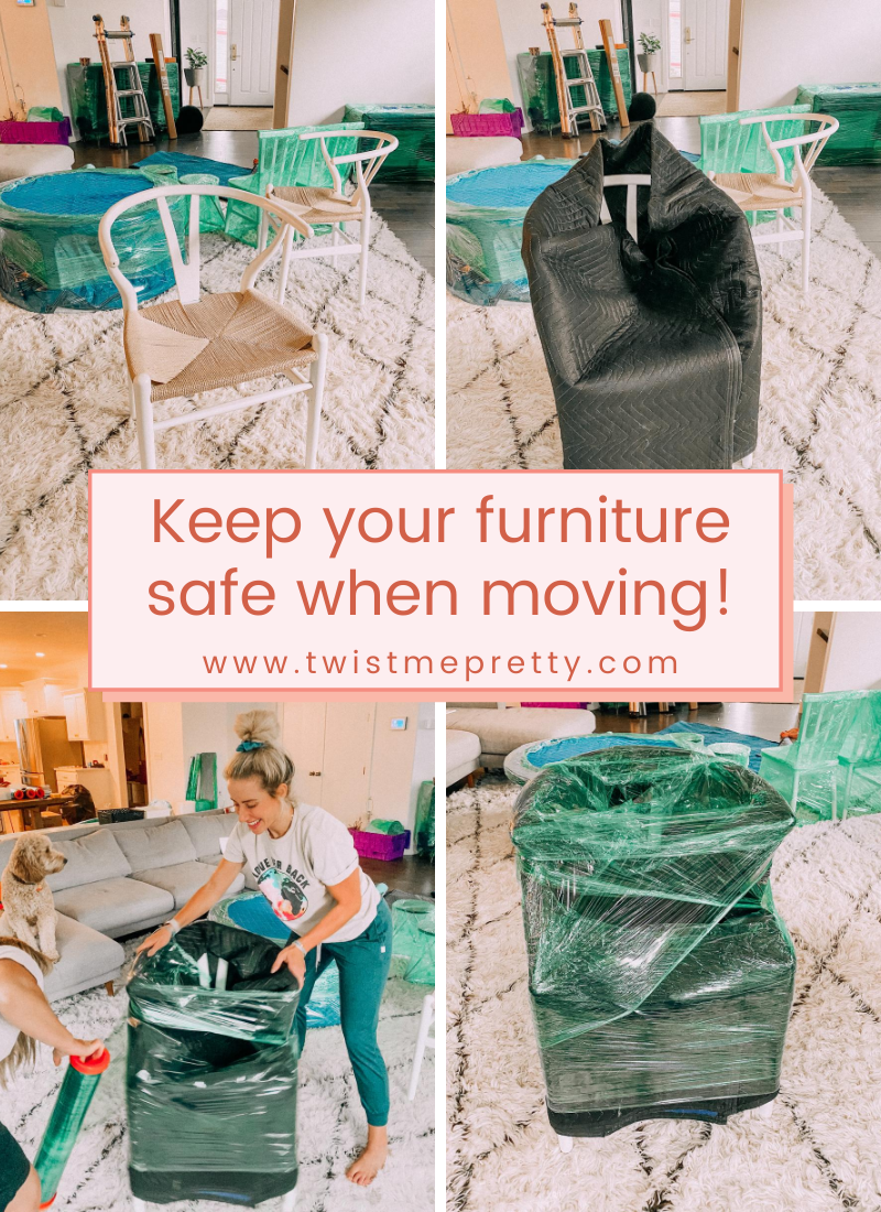 Keep your furniture safe when moving! www.twistmepretty.com