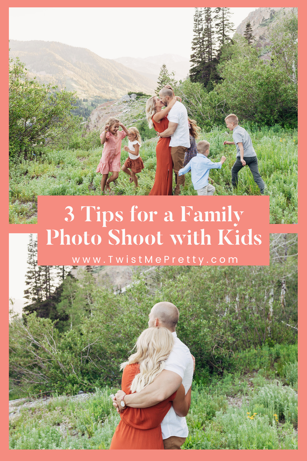 3 Tips for a Family Photo Shoot With Kids www.twistmepretty.com
