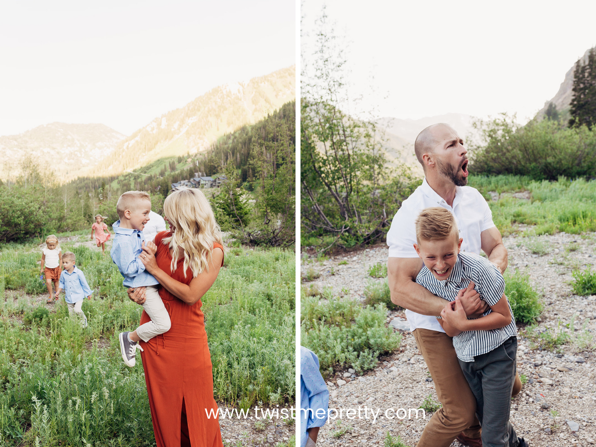 How we captured the beautiful chaos of our family. www.twistmepretty.com