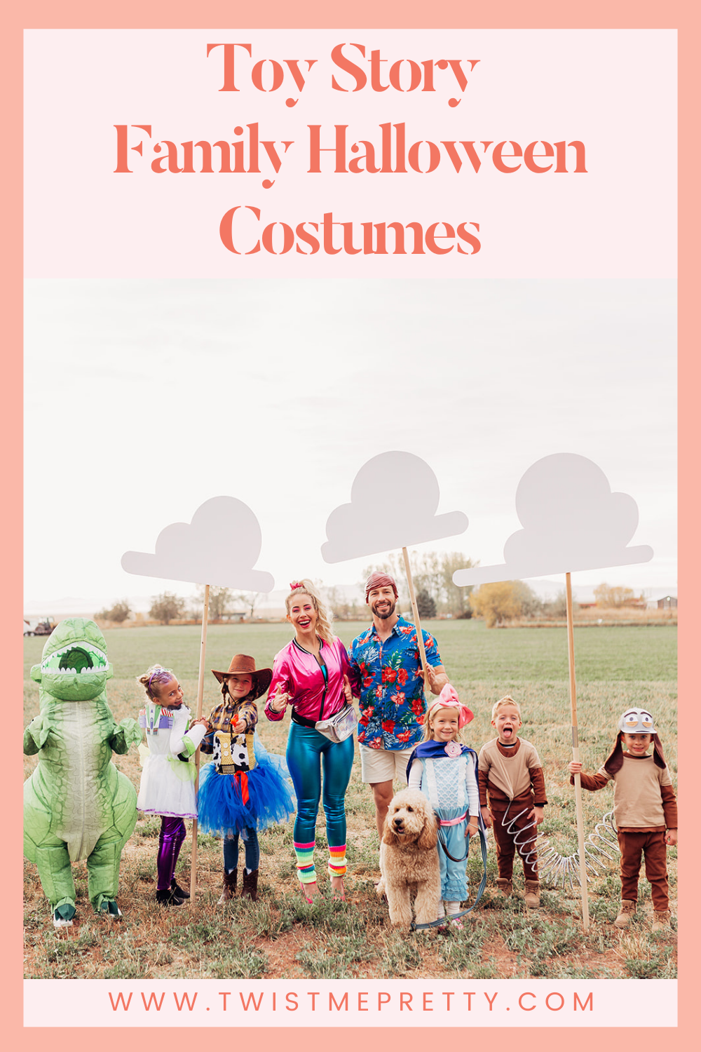 Toy Story Family Halloween Costumes www.twistmepretty.com