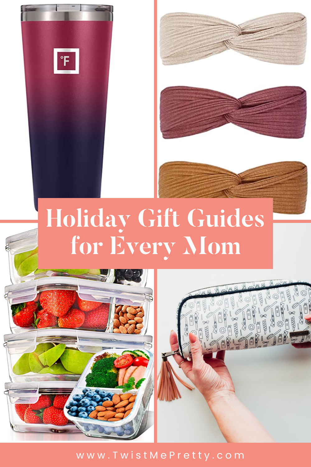 Holiday Gift Guides for every mom www.twistmepretty.com