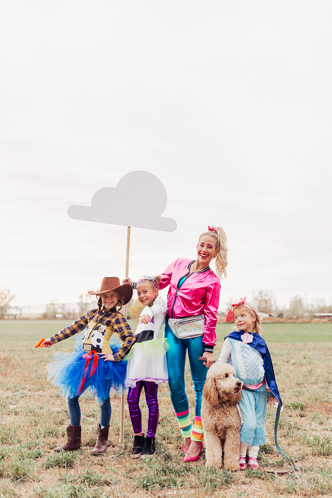 Toy Story inspired halloween costumes www.twistmepretty.com