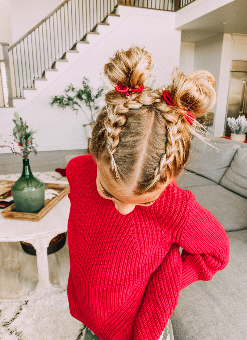 How to create this quick hairstyle for little girls www.twistmepretty.com