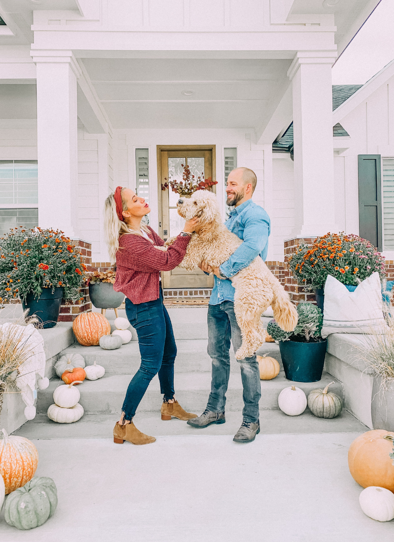 I love how my front porch looks this fall! www.twistmepretty.com