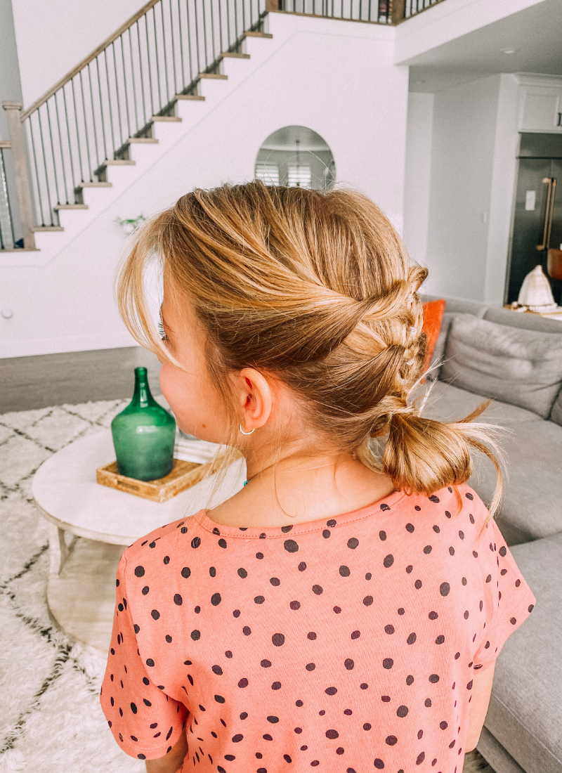 These simple twists make the perfect updo. www.twistmepretty.com