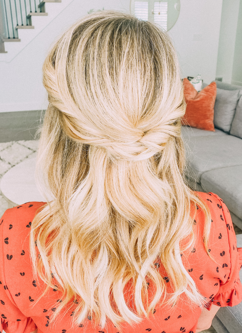 This twist hairstyle only takes 2 minutes! www.twistmepretty.com