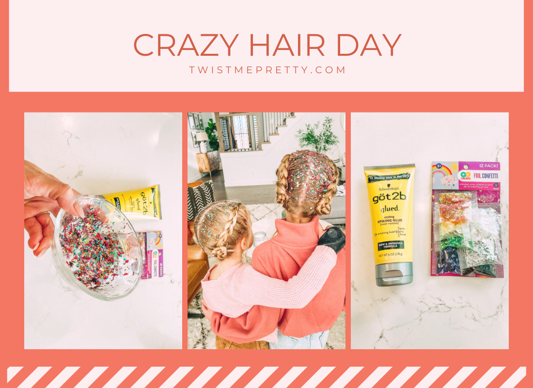 ingredients for the perfect crazy hair day twistmepretty.com