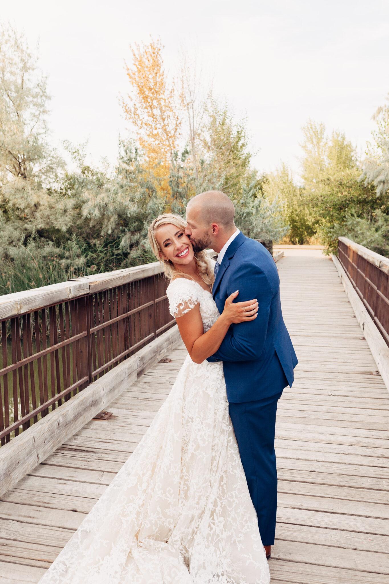 natural wedding day look twistmepretty.com
