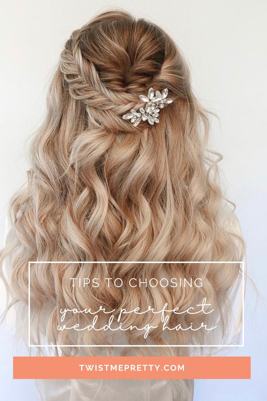 qué preguntar al elegir un peinado de novia twistmepretty.com