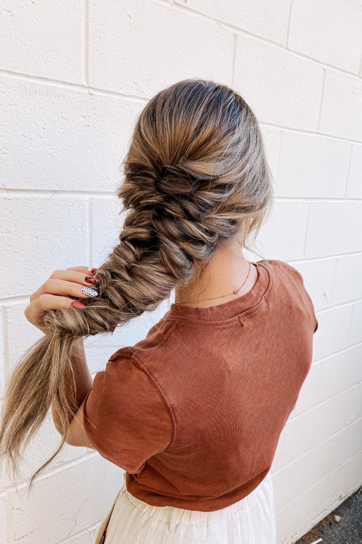 cómo peinar tu cabello el día de tu boda twistmepretty.com
