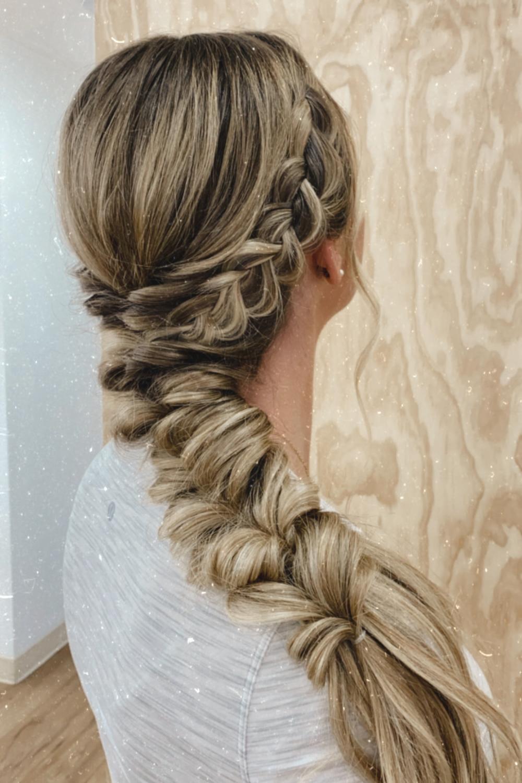 cómo llevar tu cabello el día de tu boda twistmepretty.com
