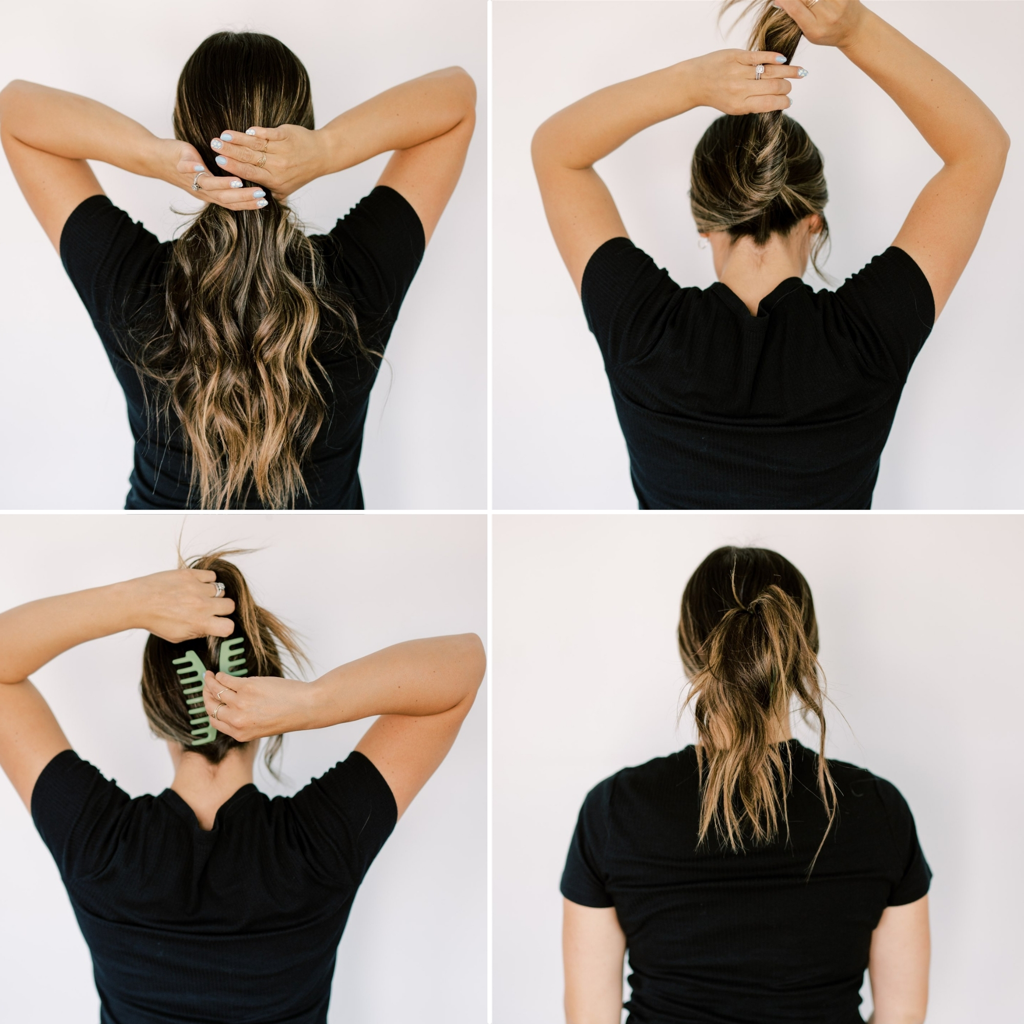 try this original hair style that is super trendy with a claw clip. www.twistmepretty.com